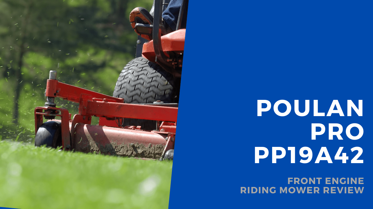poulan pro riding mower featured