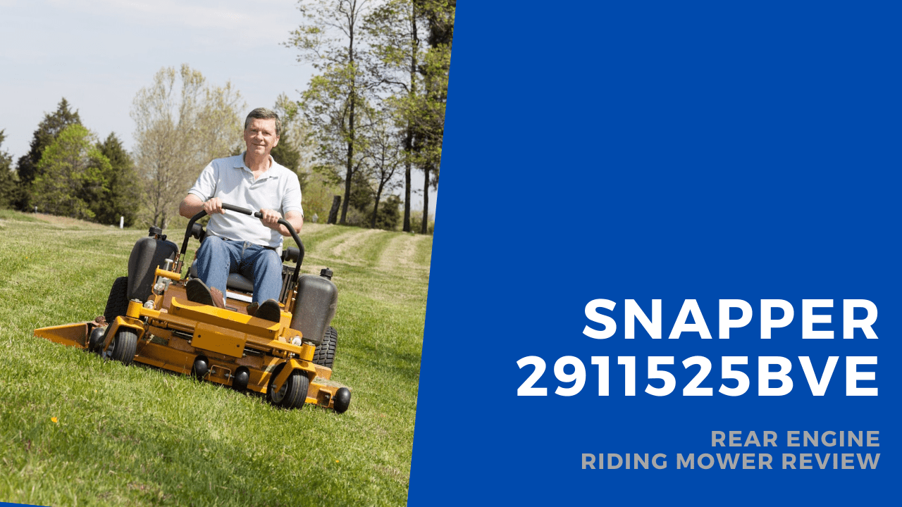 snapper riding mower featured